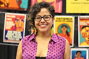 Favianna Rodriguez - Favianna Rodriguez attends the National Women's Studies Association's 2016 conference.