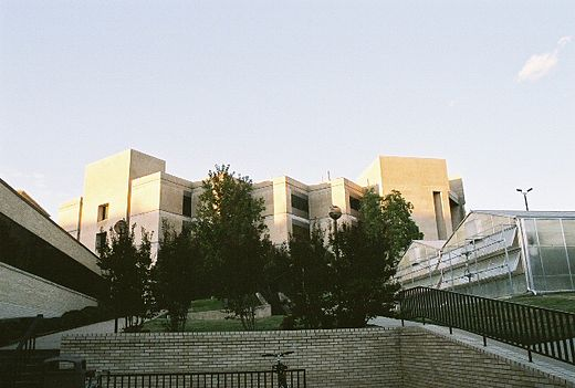 The Bell Engeneering Center van de University of Arkansas in Fayetteville