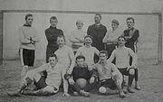 Erste Mannschaft aus dem Jahr 1902