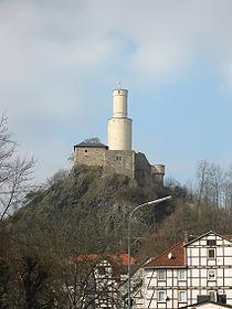 Felsburg in Felsberg