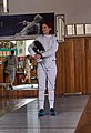 Fencing in Greece. Greek Epee Fencers. Eleftheria Mimigianni.jpg