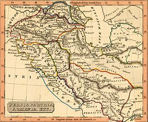 Western Armenia - Persis, Parthia, Armenia. Rest Fenner, published in 1835.