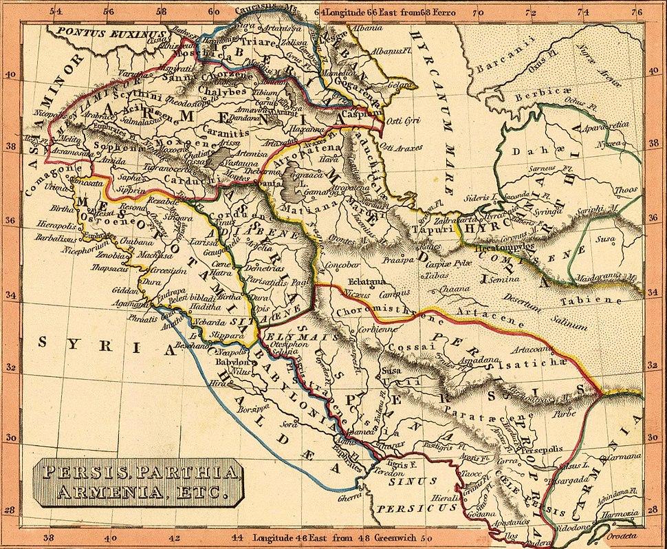 Fenner, Rest. Persis, Parthia, Armenia. 1835 (A)