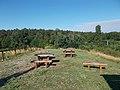 Fenyves trail, picnic place, Veszprém, 2016 Hungary.jpg