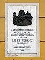 Ferenc Lizst Plaque - Budapest, Úri u. 43, 1014 Hungary.jpg