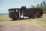 Fire truck at Melville Hall - 1987.JPEG
