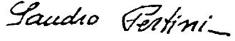 Sandro Pertini - Image: Firma Pertini