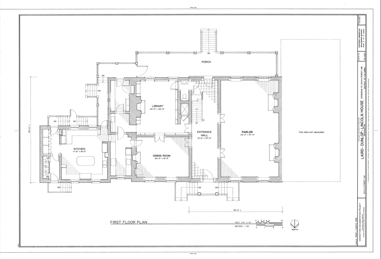 File first floor plan laird dunlop lincoln house 3014 n for Geothermal house plans