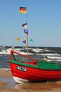Fisherboat Ahlbeck beach.JPG