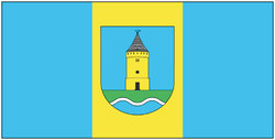 Flag of Łyntupy.png