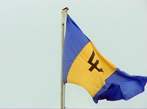 In Plenty and In Time of Need - Image: Flag of Barbados Photo