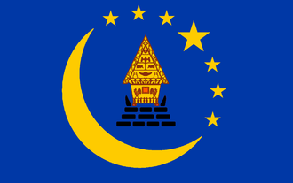 Koror - Image: Flag of Koror State