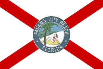 Panama City Beach, Florida - Image: Flag of Panama City Beach, Florida