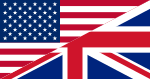 Flags of the United States and the United Kingdom.svg