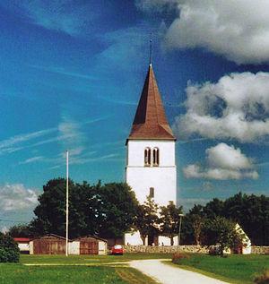 Fleringe Church - Image: Fleringe kyrka Gotland 2010 02
