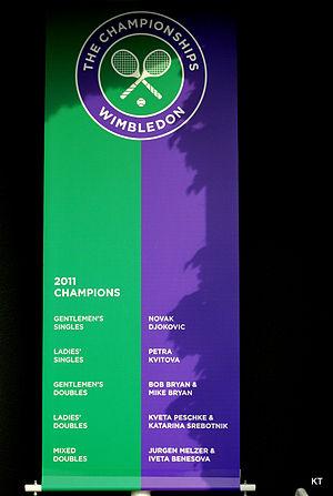 2011 Wimbledon Championships - 2011 Wimbledon champions