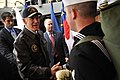 Flickr - Official U.S. Navy Imagery - Vice President Joe Biden shakes hands with Sailors..jpg