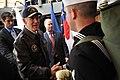 Flickr - Official U.S. Navy Imagery - Vice President Joe Biden shakes hands with Sailors..jpg