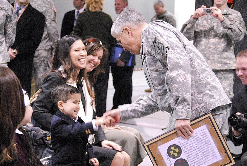 File:Flickr - The U.S. Army - Jan 22, 09 CSA with AWG family members at Meade award ceremony copy.jpg