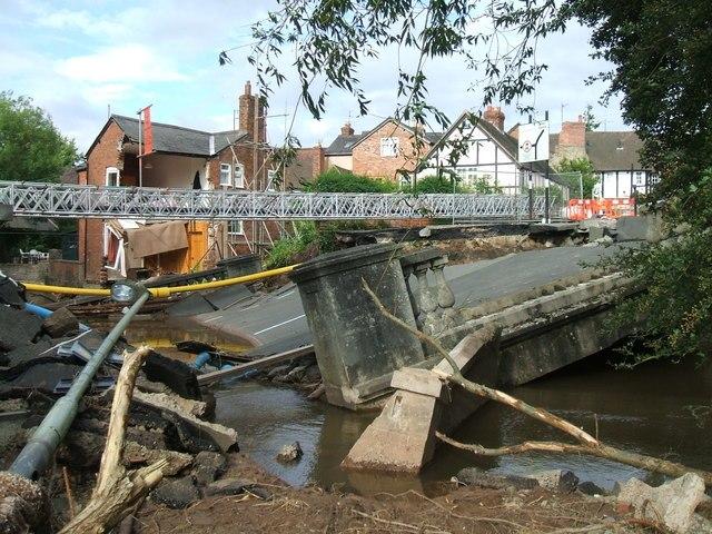 Flood Damage - geograph.org.uk - 1278873