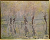 Flood at Giverny by Claude Monet, 1896 - Ny Carlsberg Glyptotek - Copenhagen - DSC09463.JPG