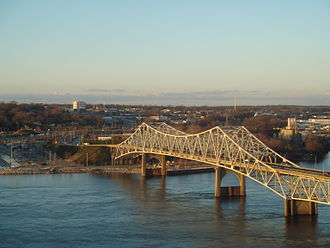 Florence, Alabama - O'Neal Bridge over the Tennessee River
