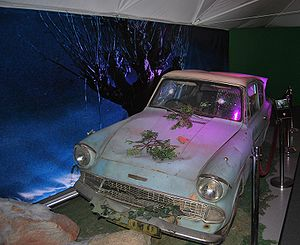 Harry Potter and the Chamber of Secrets (film) - The flying Ford Anglia used in the film