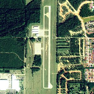 Foley Municipal Airport - NAIP aerial image, 30 June 2006