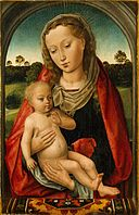 Follower of Hans Memling - Virgin and Child.jpg