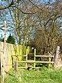 Footpath at Old Quarrington - geograph.org.uk - 150129.jpg