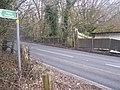 Footpath crosses A227 Gravesend Road - geograph.org.uk - 1178106.jpg