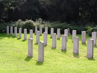 Manby - Forces Graveyard, St Mary's churchyard