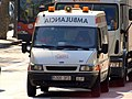 Ford Ambulancia Transport Sanitari Catelanya car 257.JPG