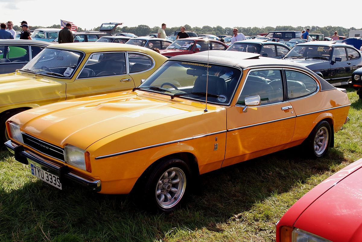 Px Ford Capri on Ford Cortina 1970 1976 Mk3