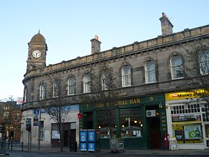 Leith Walk - Former Leith Central Station and the Central Bar