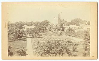 Porter Square - The Rand Estate, on site of what is now Porter Square Shopping Center, 1900 or earlier