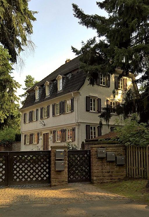 Forstamt Kranichstein - Messel, Darmstädter Straße 63 - Forsthaus
