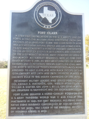 Fort Clark, Texas - Image: Fort Clark 3