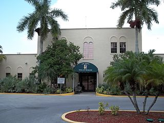 Terry Park Ballfield historic site in Fort Myers, Florida, USA