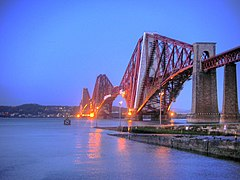 Forth Rail Bridge by Night.jpg