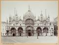 Fotografi av Basilica S. Marco i Venedig - Hallwylska museet - 103010.tif