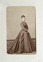 Fotografiporträtt på Ludwine von Hallwyl - Hallwylska museet - 107633.tif