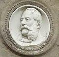 Foucart (Seine-Mar.) Félix Aroux, médaillon sur sa tombe.jpg