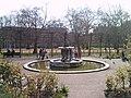 Fountain near plant frames in Hyde Park - geograph.org.uk - 1806930.jpg