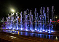 Fountains at Alun-Alun, Purwokerto, 2015-03-20 03.jpg