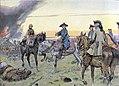 Frédéric II et le général Seydlitz à la bataille de Zorndorf.jpg