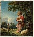 François Boucher - Shepherd Boy Playing Bagpipes - 61.958 - Museum of Fine Arts.jpg