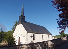 The church in La Vespière