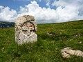 France Croix de l'Alpette Dauphiné-Savoie boundary stone 1.jpg