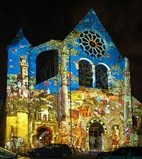 France Eure et Loir Chartres en lumieres 2006 Eglise Saint Aignan 01.jpg